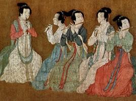 Gu Hongzhong, Festivités nocturnes de Han Xizai