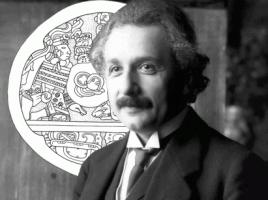 Einstein en Amérique du Sud (montage)